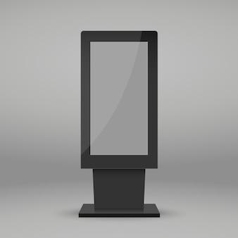 Modello di stand multimediale digitale.