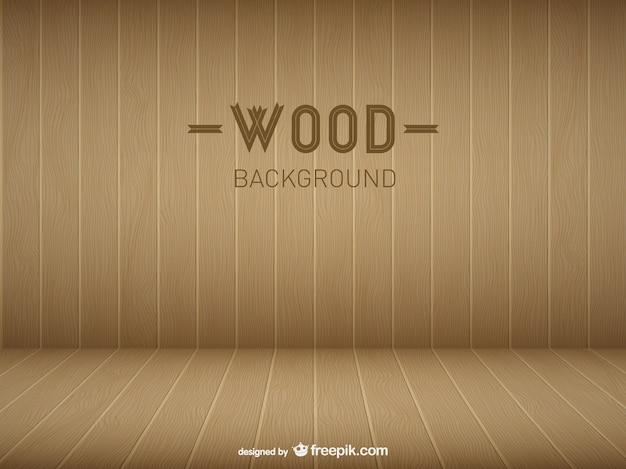 Modello di stanza in legno