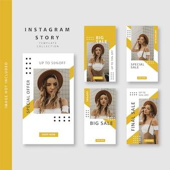 Modello di storia di instagram