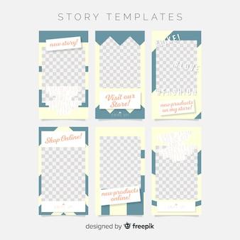 Modello di storie di instagram creativi