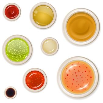 Modello di tapas e antipasti con tradizionale spuntino spagnolo, con formaggio e olive. illustrazione vettoriale di tapas e antipasti per menu, brochure, imballaggi, carta da imballaggio.