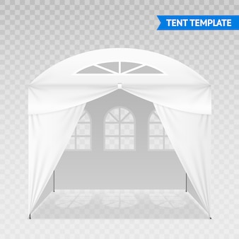 Modello di tenda realistico