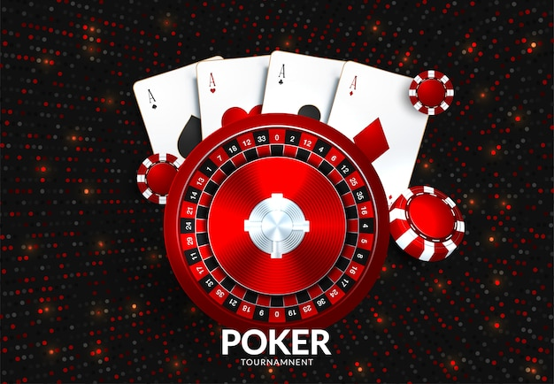 Modello di torneo di gioco d'azzardo del casinò
