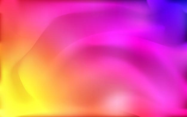 Modello di vettore giallo-rosa chiaro con forme di lampada