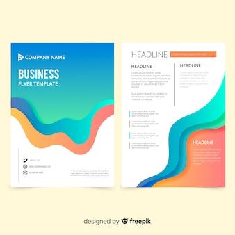 Modello di volantino di business creativo