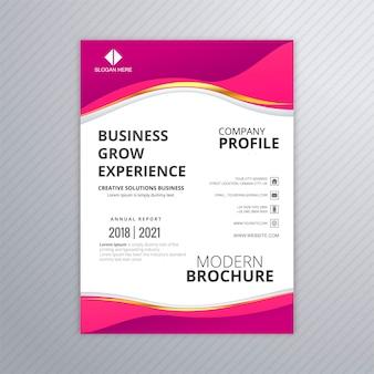 Modello di volantino di business professionale