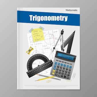 Modello di volantino trigonometria