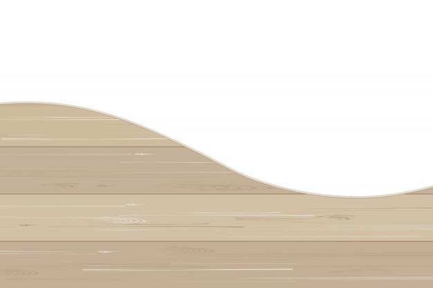 Modello e struttura di legno astratti per fondo.