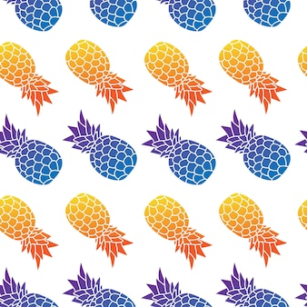 Modello ed estate senza cuciture dell'ananas
