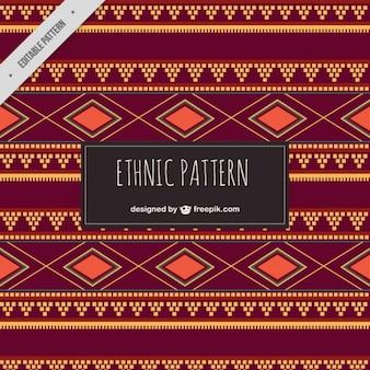 Modello etnico brown