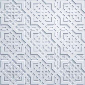 Modello geometrico arabo del marocco dell'ornamento
