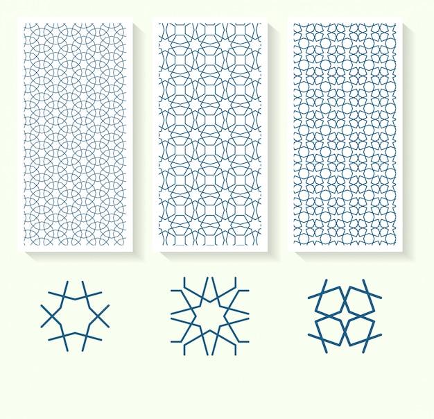 Modello geometrico islamico senza soluzione di continuità
