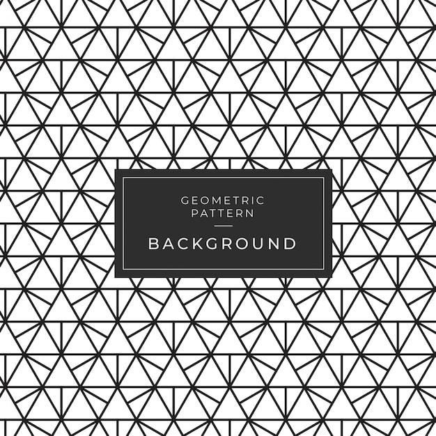 Modello geometrico moderno monocromatico per carta da parati