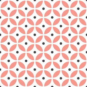 Modello geometrico senza cuciture astratto in stile scandinavo.