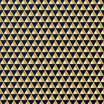 Modello geometrico triangoli d'oro