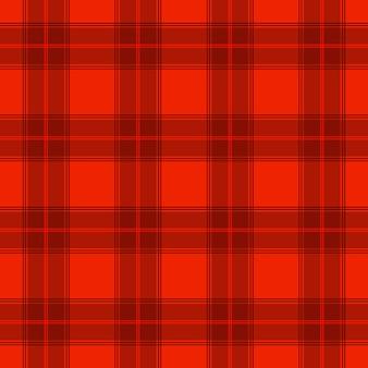 Modello in tessuto colorato a strisce scozzese rosso