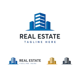 Modello logo immobiliare
