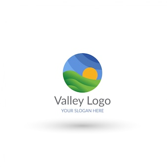 Modello logo valle