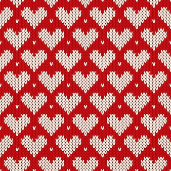 Modello maglione lavorato a maglia. imitazione di texture in maglia di lana