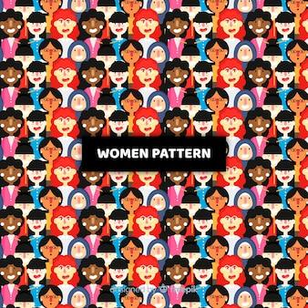 Modello moderno del gruppo internazionale di donne