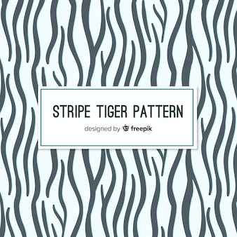 Modello moderno della pelle di tigre