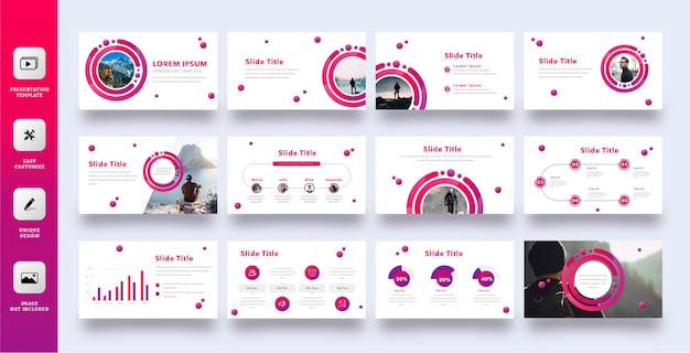 Modello moderno di presentazione aziendale multiuso