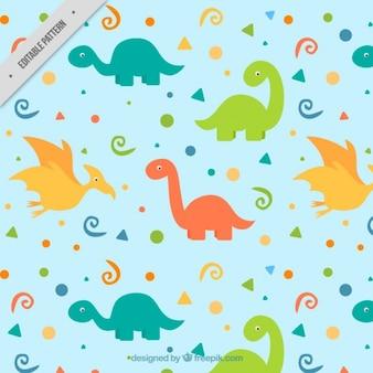 Modello nizza dinosauri