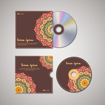 Modello orientale di copertina del cd.
