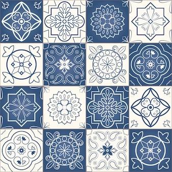 Modello patchwork senza soluzione di continuità