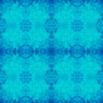 Modello poligonale blu senza soluzione di continuità