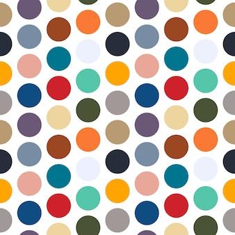 Modello punto colorato senza soluzione di continuità