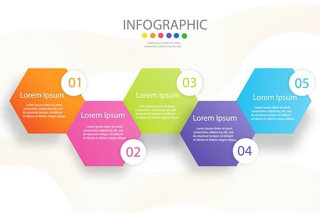 Modello quadrato di affari di progettazione