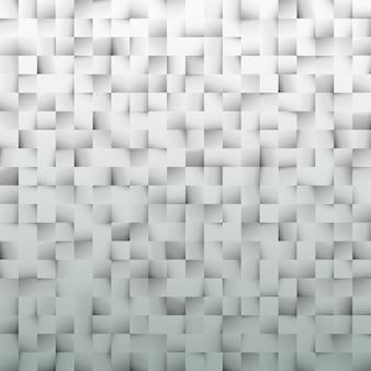 Modello realizzato da quadrati