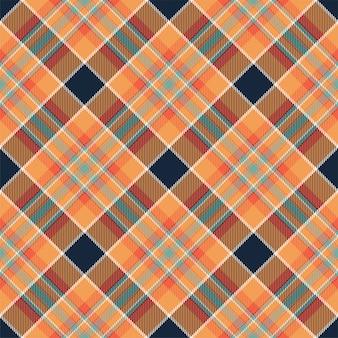 Modello scozzese senza cuciture scozzese scozzese. tessuto di sfondo retrò. struttura geometrica quadrata di colore vintage check.