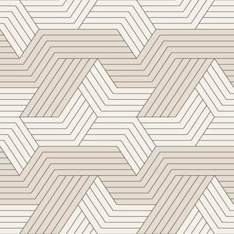 Modello senza cuciture con linee geometriche simmetriche.