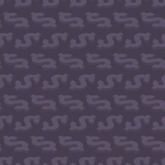 Modello senza cuciture con simboli isometrici del dollaro
