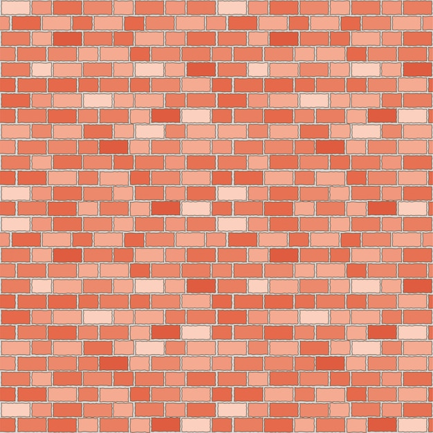 Modello senza cuciture del muro di mattoni rossi