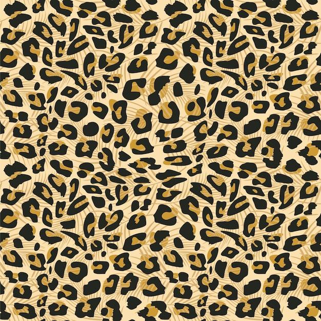 Modello senza cuciture della pelle di giaguaro
