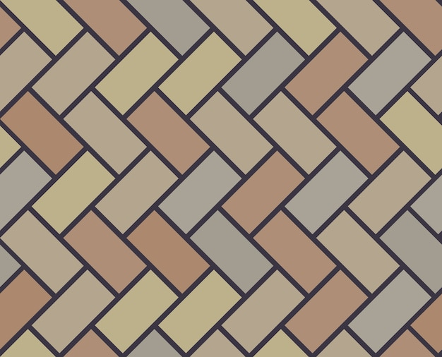 Modello senza cuciture delle mattonelle di vettore di pavimento in legno