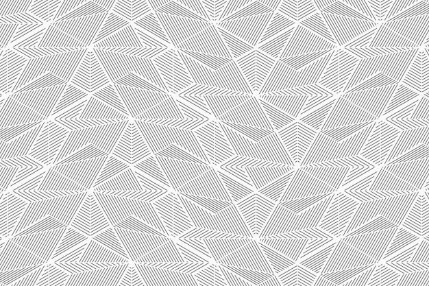 Modello senza cuciture di linee geometriche astratte