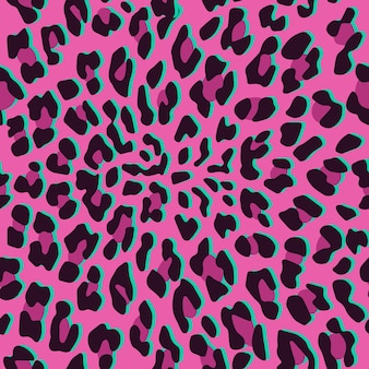 Modello senza cuciture di pelle di leopardo.