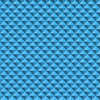Modello senza cuciture di struttura astratta blu della piramide di sollievo