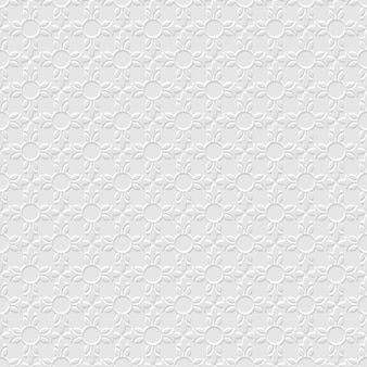 Modello senza cuciture floreale astratto grigio 3d