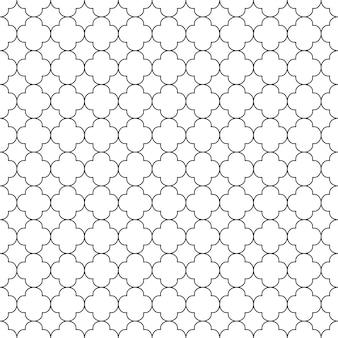 Modello senza cuciture geometrico fondo in bianco e nero progettazione per fondo