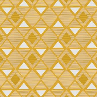 Modello senza cuciture geometrico ispirato tribale