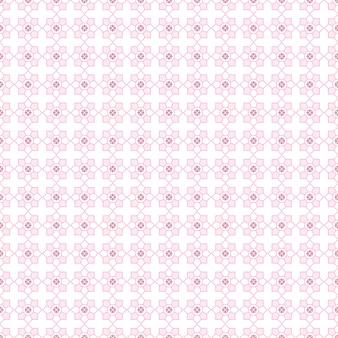 Modello senza cuciture geometrico strutturato astratto con tono rosa e colori bianchi.