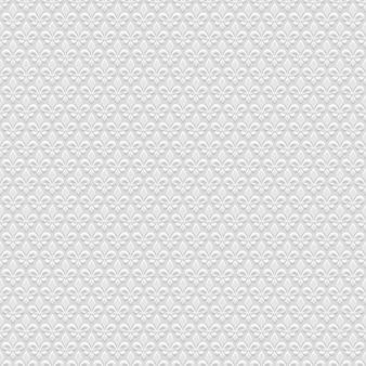 Modello senza cuciture grigio 3d con giglio reale