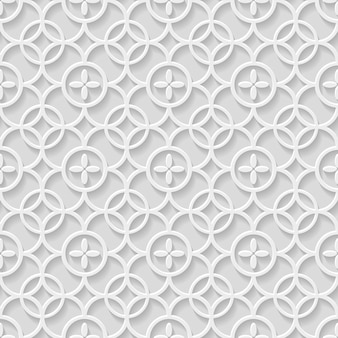 Modello senza cuciture grigio di carta