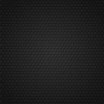Modello senza cuciture in carbonio nero