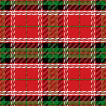 Modello senza cuciture scozzese scozzese stewart